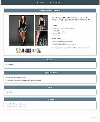 ebay listing template simple_listing3 increase your sellings