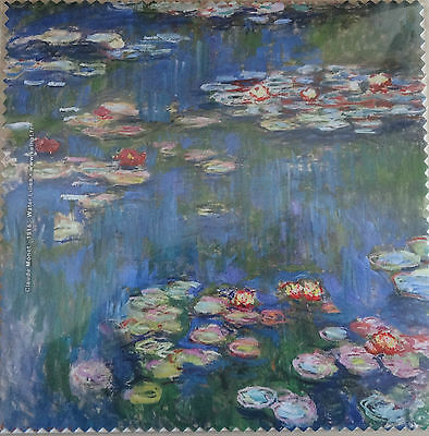 """Glasses Cleaning Cloth """"water Lilies"""" - Claude Monet -1916 - Phone/tablet Cloth"""
