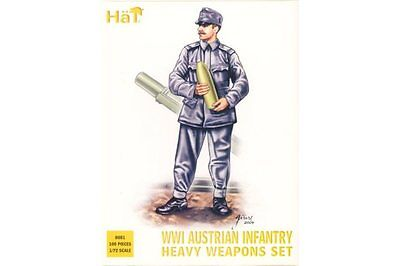 HaT 8081 1/72 Austrian Infantry Heavy Weapons WWI HäT