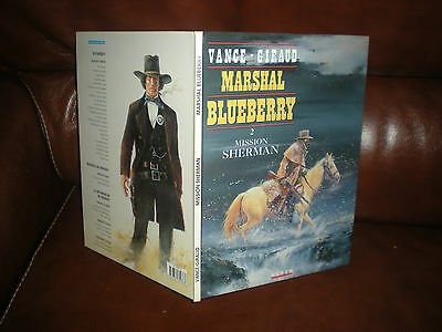 Marshal Blueberry - Mission Sherman - Edition Originale Juin 1993