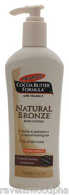 Palmer's Cocoa Butter Formula Natural Tan Bronze Body Lotion - 250mL Pump Bottle