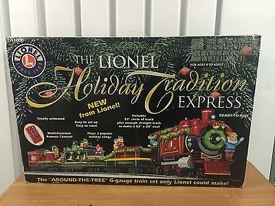 TGS  Lionel G Large scale Holiday Tradition Set Box Only