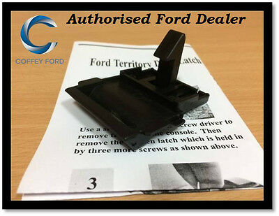 Ford Territory Top Dash Lid Compartment Latch Clip Replacement. SX/SY/TX/TS/Ghia