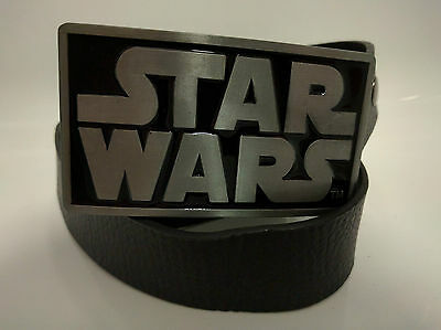 Star Wars Belt Buckle - With Or Without Snap On Belt - FREE POSTAGE | UK  Seller