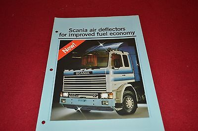 Scanias Truck Air Deflector Dealers Brochure DCPA4