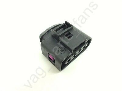 4B0973724 4 Pins Ignition Spark Coil Plug Connector for VAG VW Audi Skoda SEAT