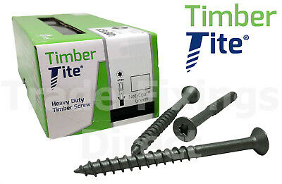 Timber-Tite Countersunk Head Timberfix Landscaping Sleeper Screws Timberlok