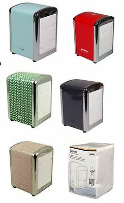 Retro Napkin Holders / Napkins / by Cabanaz Tissue Dispenser US Diner Style