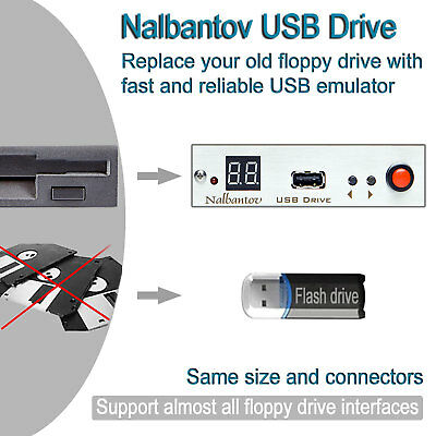 Nalbantov USB Floppy Disk Drive Emulator for Brother BES‐1210AC and BE‐1201B‐AC