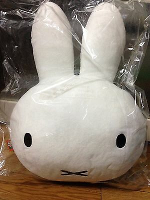 New Fluffy face stuffed cushion Miffy from Japan new