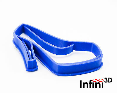 Lady shoe cookie cutter