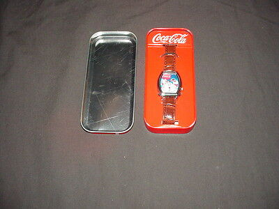 Coca Cola Santa Christmas Watch with Tin (2010 Limited Edition)