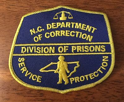 NEW MINT North Carolina Department Of Correction Prison Patch