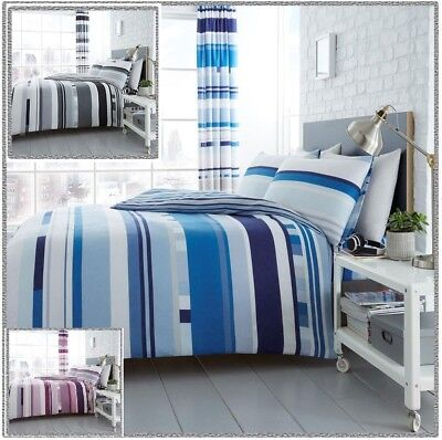 ROSHIP Print Poly Cotton Duvet Cover+PillowCase Bedding Set Or Curtains ( 66x72)