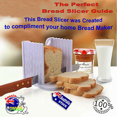 New Bread Toast Sandwich Slicer Cutter Mold Maker Kitchen Guide Slicing Tool