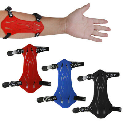 Rubber SHOOTING ARCHERY ARM GUARD BOW PROTECTIVE GEAR w/ 2 ADJUSTABLE STRAPS NEW