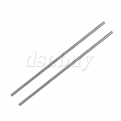 5mm OD Cylinder Liner Rail Linear Shaft Optical Axis Bearing Steel Pack of 2