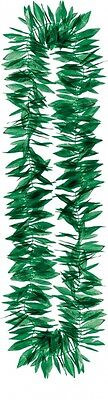Green Leaf Lei Garland - Tropical Party Fancy Dress Accessory
