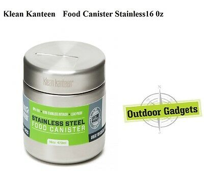 Klean Kanteen  Food Canister Stainless - 16oz