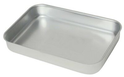 Heavy Duty Aluminium Oven Baking Tray Dish Catering 315 x 215 x 50mm