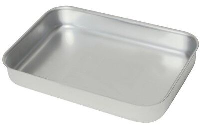 Heavy Duty Aluminium Oven Baking Tray Dish Catering 370 x 265 x 70mm