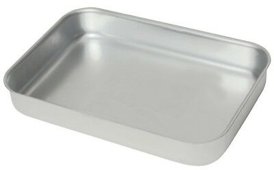 Heavy Duty Aluminium Oven Baking Tray Dish Catering 420 x 305 x 70mm