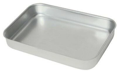 Heavy Duty Aluminium Oven Baking Tray Dish Catering 470 x 355 x 70mm