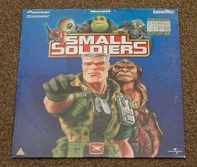 Small Soldiers - Rare Laserdisc - Nice Condition - Pal