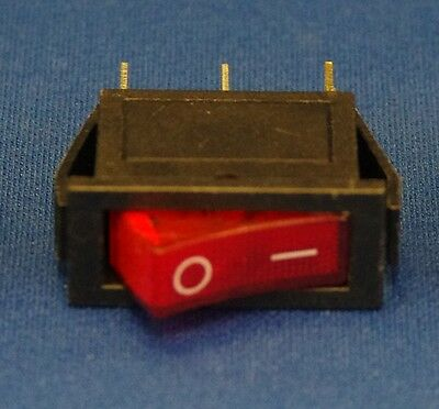 ON-OFF Rocker Switch SPST KCD3 3 Pin 15A 3PCs