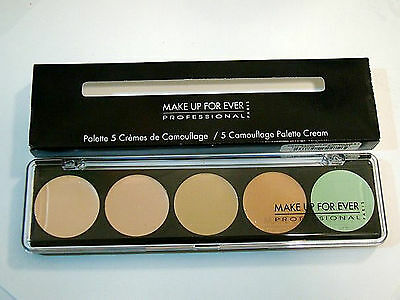 MAKE UP FOR EVER 5 Camouflage Cream Palette No. 1 Concealer FREE shipping