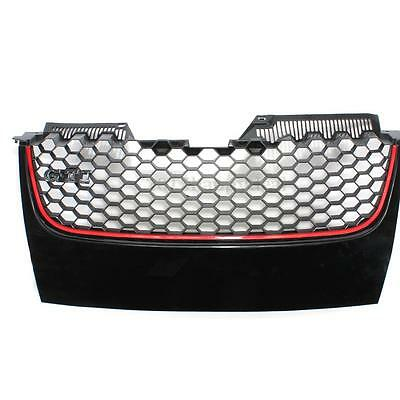 Front Bumper Grill Grille With The GTI Badge For VW MK5 Golf Jetta Gt Sport 2006