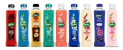 Radox Herbal Bath Soak 500ml Liquid Bath Therapy Brand New - SELECT THE TYPE