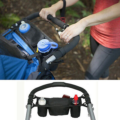Chic Cup bag Baby Stroller Organizer Baby Carriage Pram Buggy Cart Bottle Bags