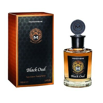 Monotheme Black Label Black Oud 100Ml Spray Eau De Parfum