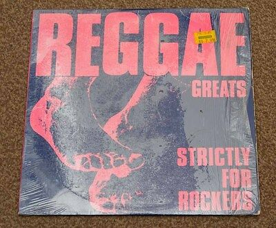 Reggae Greats: Strictly For Rockers. Rare Vinyl / Lp - Mango, Mlps 9796 - Tested