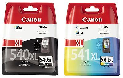 Canon CL-541XL, PG-540XL, MG 2150/2250/3150/3250/3550/4150/4250/ MX 375/395/435