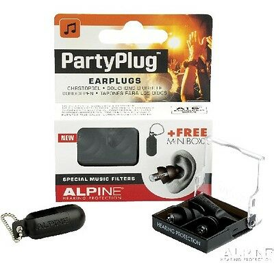 Alpine Partyplug-Mkii-Bk Set Earplug Alpine Partyplug Mkii Black Edition