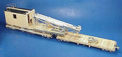 On3/On30 WISEMAN MODEL SERVICES DP-90 D&RGW MOW PILE DRIVER OB CRAFTSMAN KIT