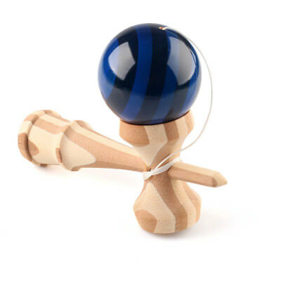 New  Quality Wooden Funky Kendama - Bamboo Kendama - Standard Size - Skill Toy