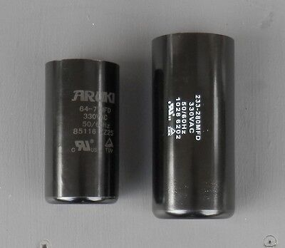 240V AC Electric motor start capacitor