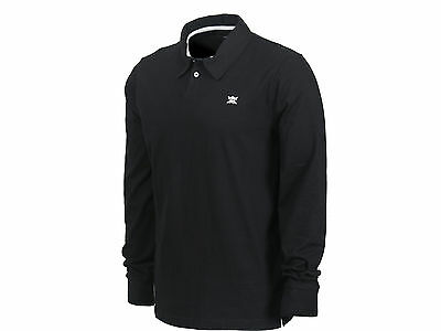 fourstar Pirate Polo LS Shirt Large