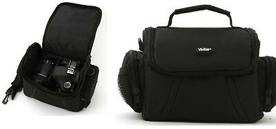 Medium Camera Bag Case For Canon Eos Rebel Dslr Nikon Dslr Sony Alpha Dslr