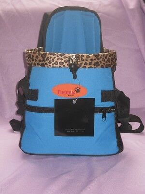 Pet Carrier Soft Sided Small Cat / Dog Comfort blue  Travel Bag