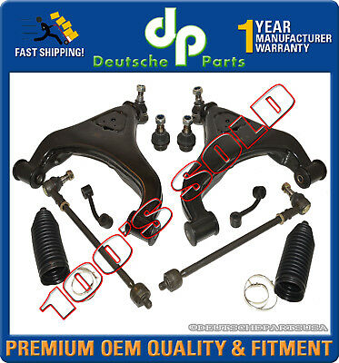Front Control Arms Tie Rod Ball joint DODGE Sprinter 2500 3500 SUSPENSION KIT 10