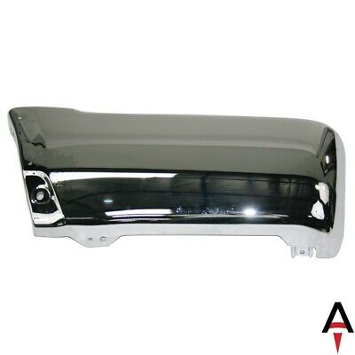 For 96-02 4Runner Rear Bumper Face Bar Extension End Chrome LH Driver TO1104103