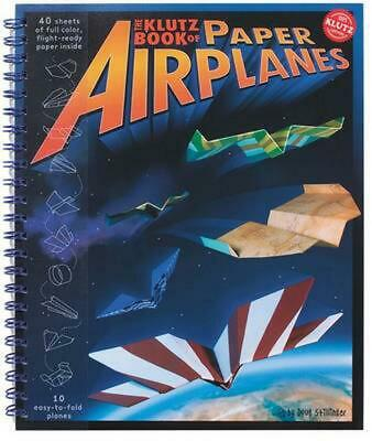 Klutz Book of Paper Airplanes by Doug Stillinger Spiral Book (English)