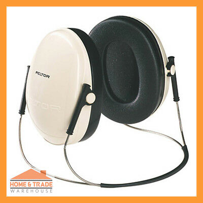 3M Pelter Deluxe Series H6B 290 Behind-the-Head Low Profile Earmuffs Hearing PPE