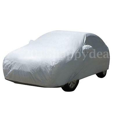 Universal Size L Full Car Cover Rain Dust Winter Snow UV Protection Waterproof