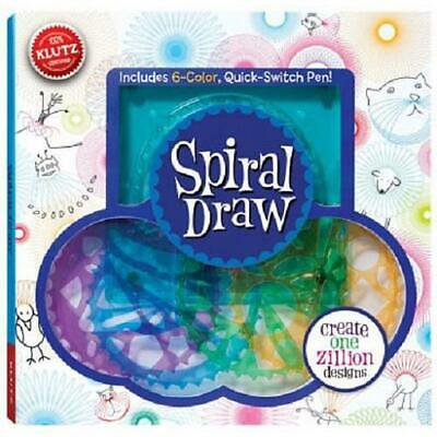 Spiral Draw by Doug Stillinger (English) Paperback Book Free Shipping!