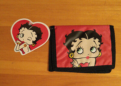 Betty Boop Red and Black Bi-fold Wallet New NWT